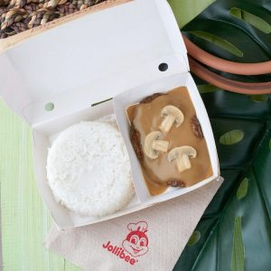 Jollibee Burger Steak