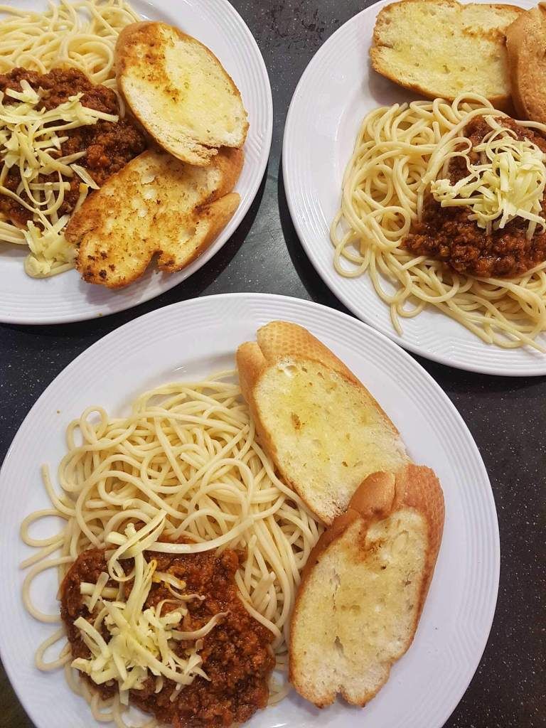 Spaghetti-All-You-Can at Pancake House Promo