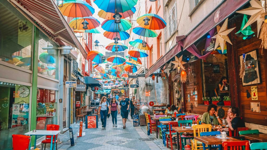 Istanbul Instagrammable Street
