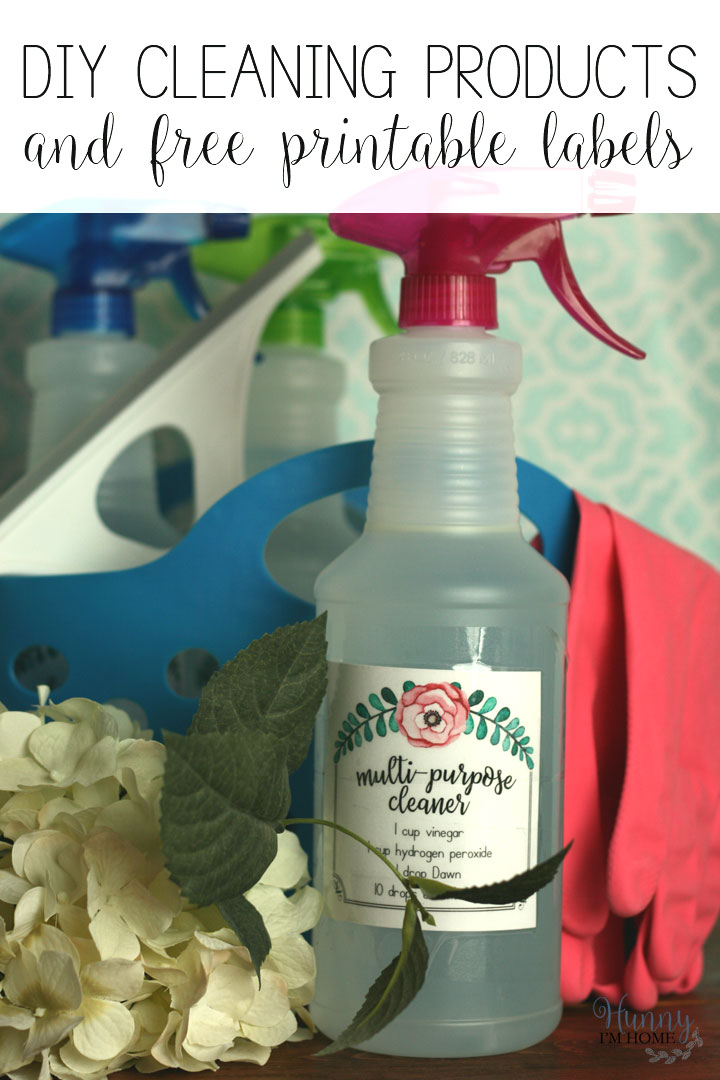 DIY Cleaning Products with Essential Oils