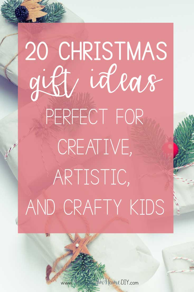 20 Amazing Gift Ideas for Crafty Kids Who Love to Be Creative ...