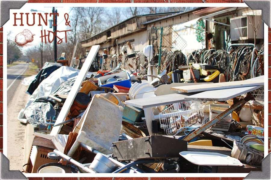 teague junk smalltown USA shopping