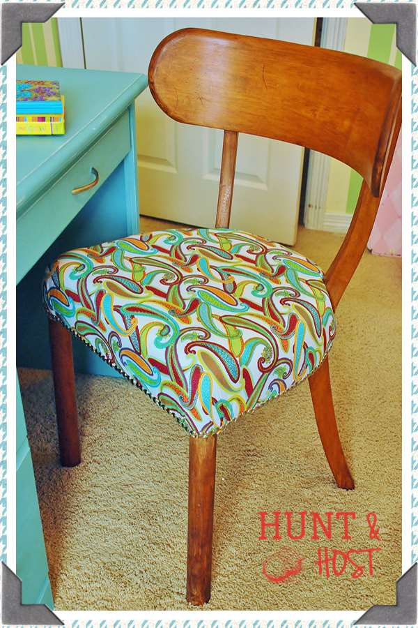 chair makeover hunt and host