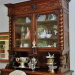 glass china hutch hunt board