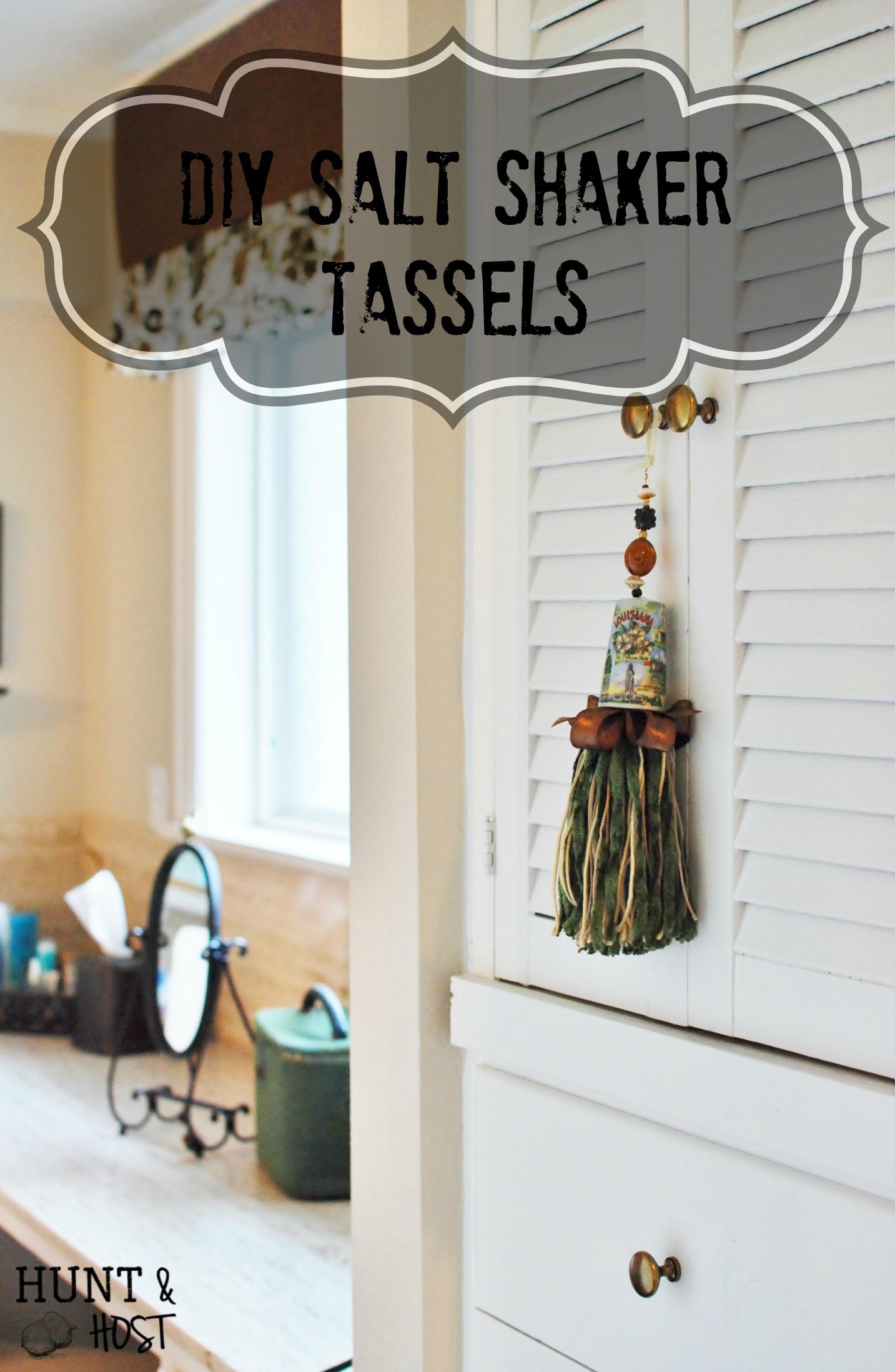 Salt Shaker Tassels  Hunt and Host