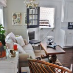 before and after home tour breakfast nook