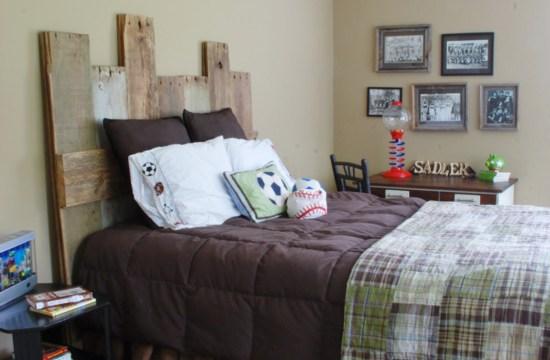 Hunt & Host Home Tour: Vintage Sports Boy's Bedroom