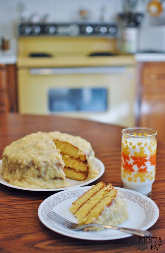 Grannys coconut cake hunt and host