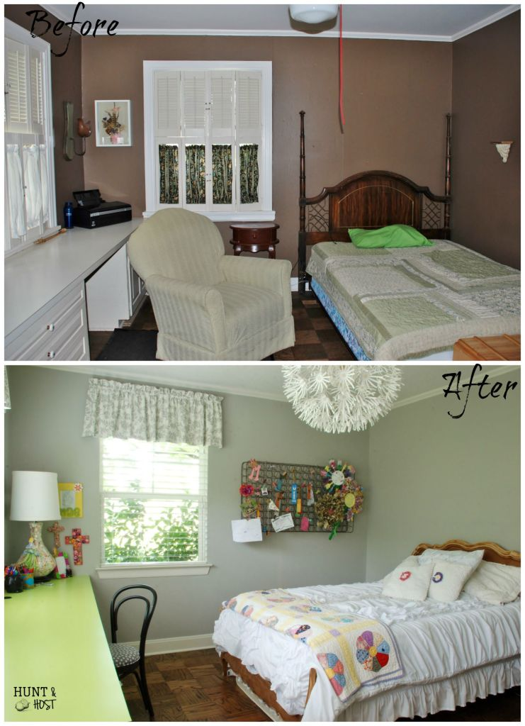 girl bedroom before and after 2