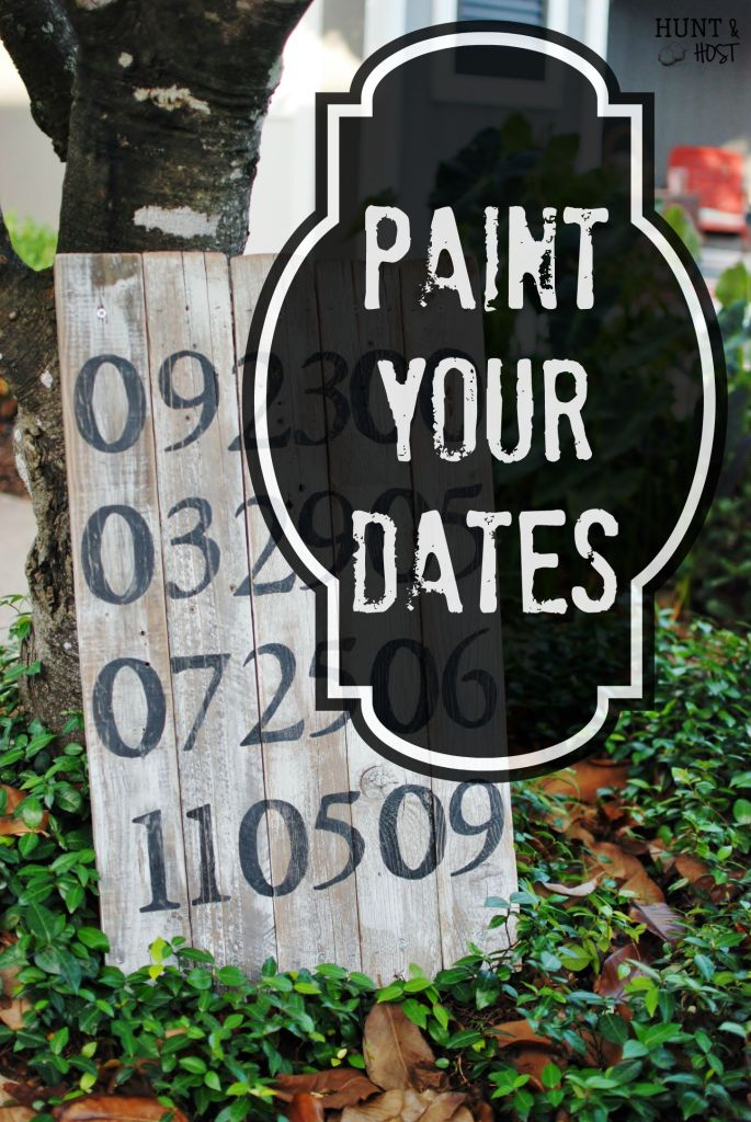 paint your dates