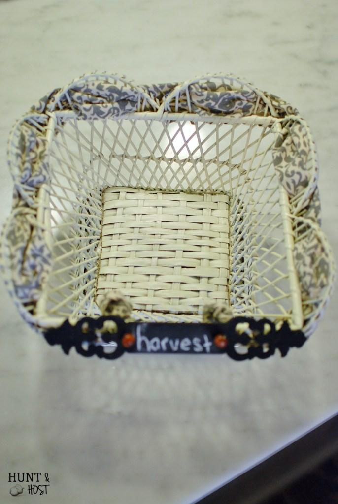 trashed basket makeover