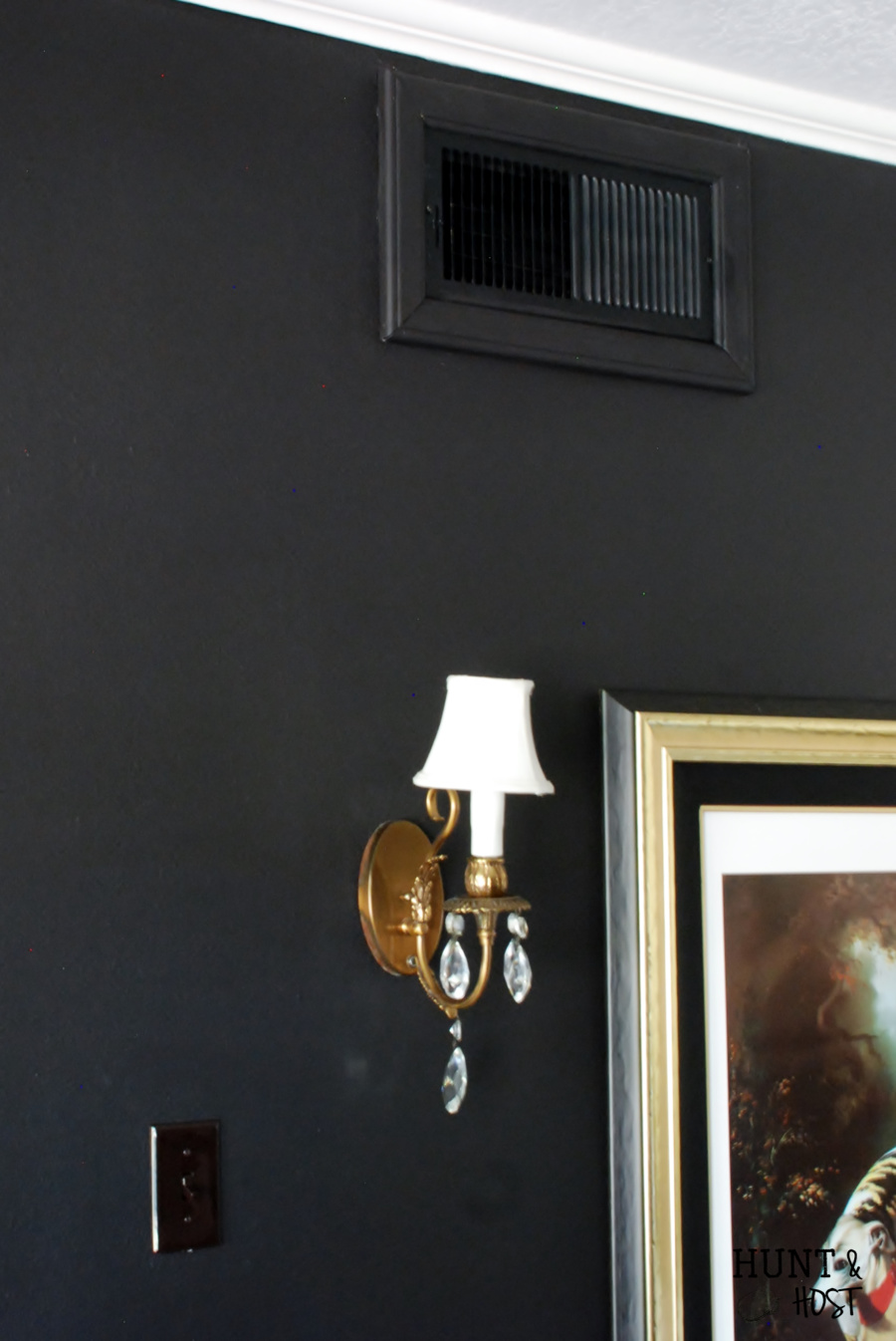 Black Wall Paint painting tips, tricks and shortcuts - hunt and host
