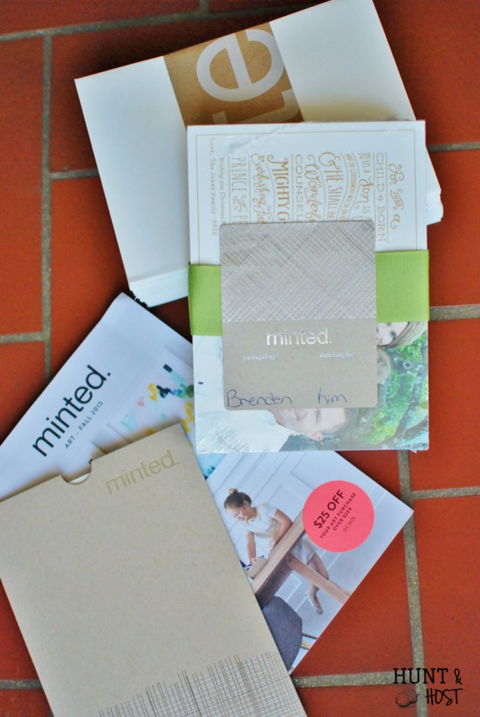 why send christmas cards minted huntandhost.net