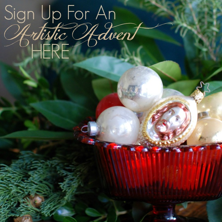 Sign up for the Artistic Advent series as we study Ann Voskamp's book The Greatest Gift. Each week will have a new craft to go along with the reading for a Christmas focused on Jesus.