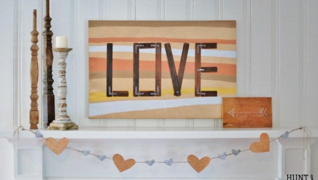 Love Like Paint: Mixed Metal Valentine