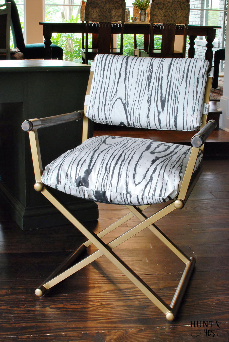 Charming This Mid Century Desk Chair Gets A Powerful Neutral Makeover With Fois Bois  Fabric.