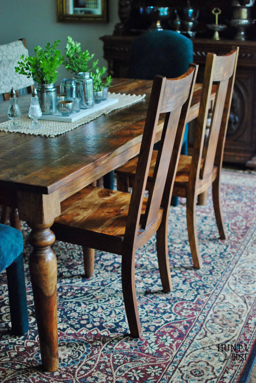 What To Do When You Donu0027t Want To Paint Your Dining Room Furniture,