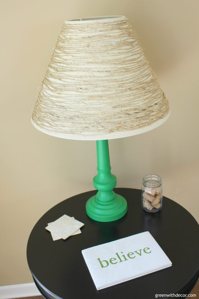 Things to do with old lampshades hunt and host lampshade ideas things to do with out of style lampshades ways to update old aloadofball Choice Image