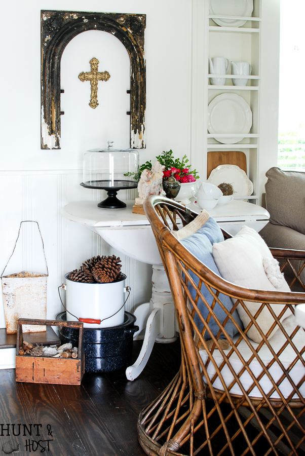 Kitchen Cubbies Get A Makeover Into A Built In Plate Rack Filled With  Gorgeous Goodies Like