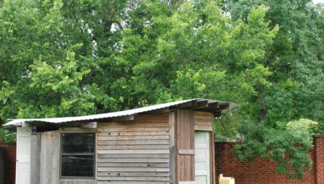 Projecting Dreams: Playhouse to Chicken Coop Makeover