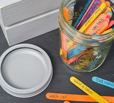 I'm Bored Jar: Free Things For Kids To Do This Summer