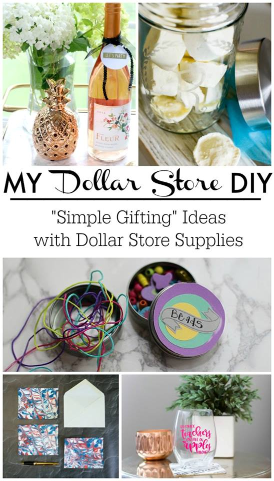Dollar Store DIY Gift: Glass Etching Container - Hunt and Host