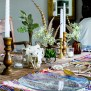 Boho Table Setting Dollar Store Decorating For Fall