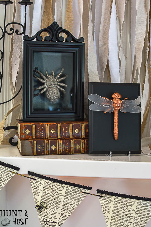 catch how to make your own diy gilded bug display case for halloween with supplies from