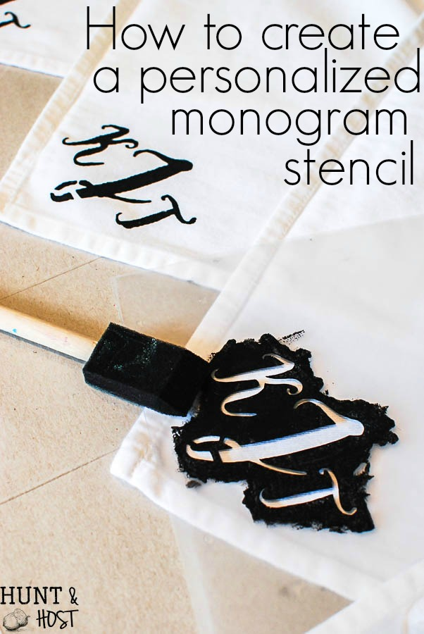 how to make a wedding monogram