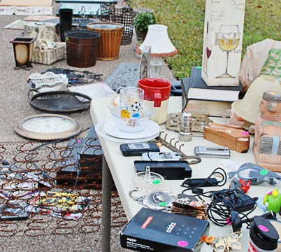 Why Your Garage Sale Stinks