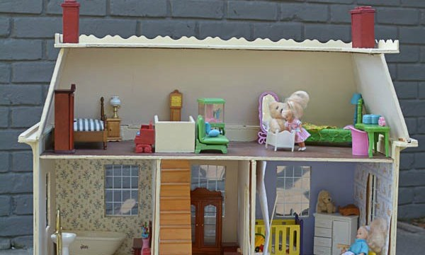 Dollhouse Makeover: One Room Challenge