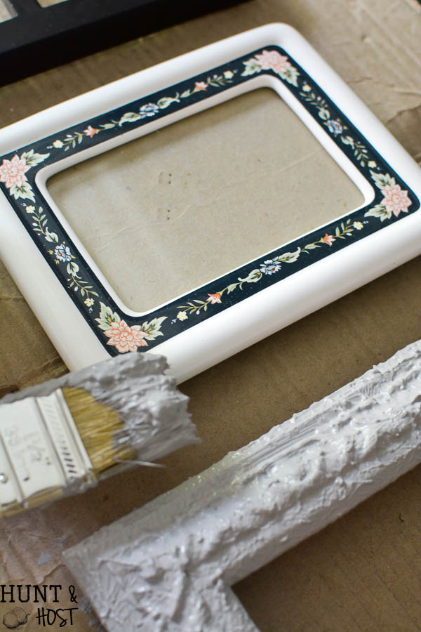 3 Ideas to Update Old Picture Frames - Hunt and Host