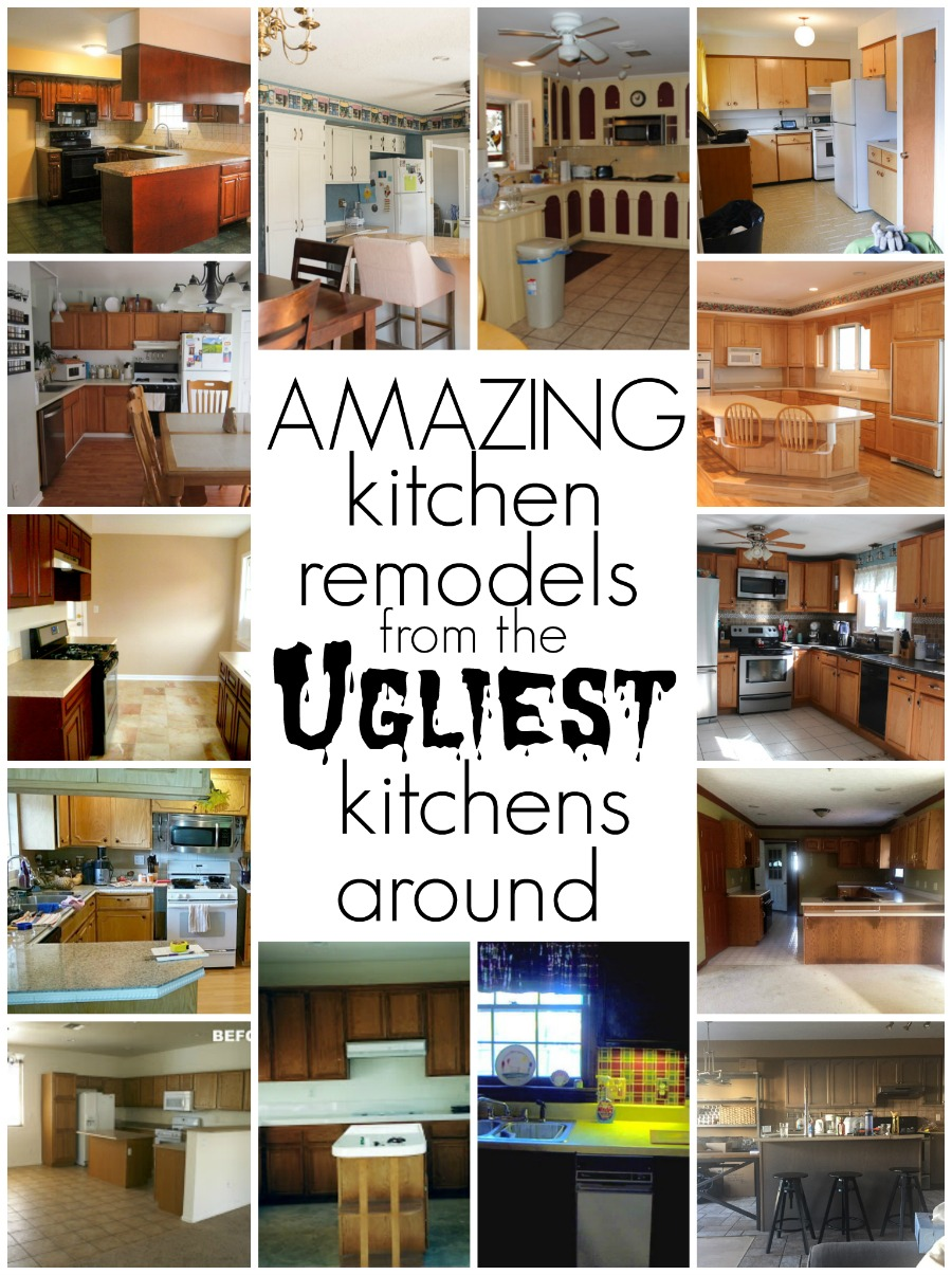 Amazing Kitchen Remodels From The Ugliest Kitchens Around. DIY Kitchen  Renovation Tips, Tricks And