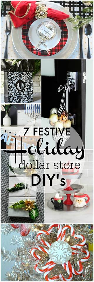 December dollar store ideas for Christmas