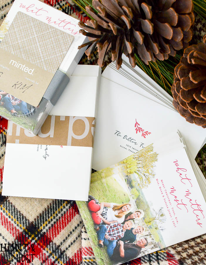 How about an upcycled Christmas card display to show off all your holiday mail! Here is a fun idea plus our Christmas card to you this year!