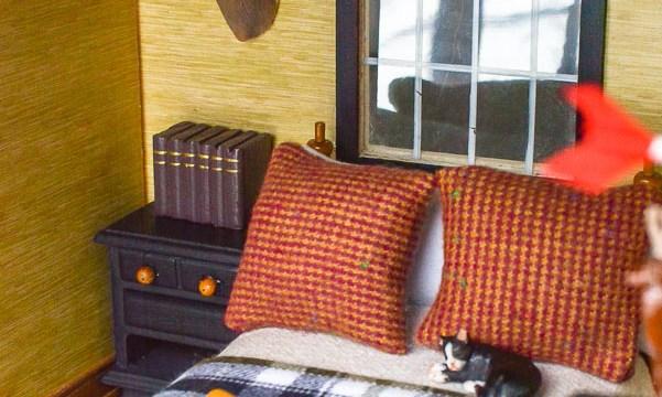 Rustic Boys Bedroom Ideas: Dollhouse Edition