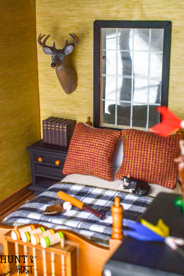 rustic red boys bedroom ideas | Rustic Boys Bedroom Ideas: Dollhouse Edition - Hunt and Host