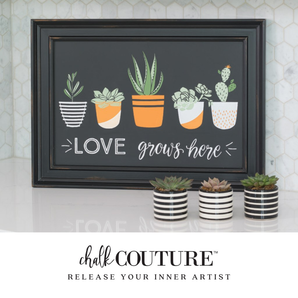 Chalk Couture is an exciting easy to use product, perfect for DIY sign making that is professional quality at an affordable price. You are going to be amazed how easy it is.