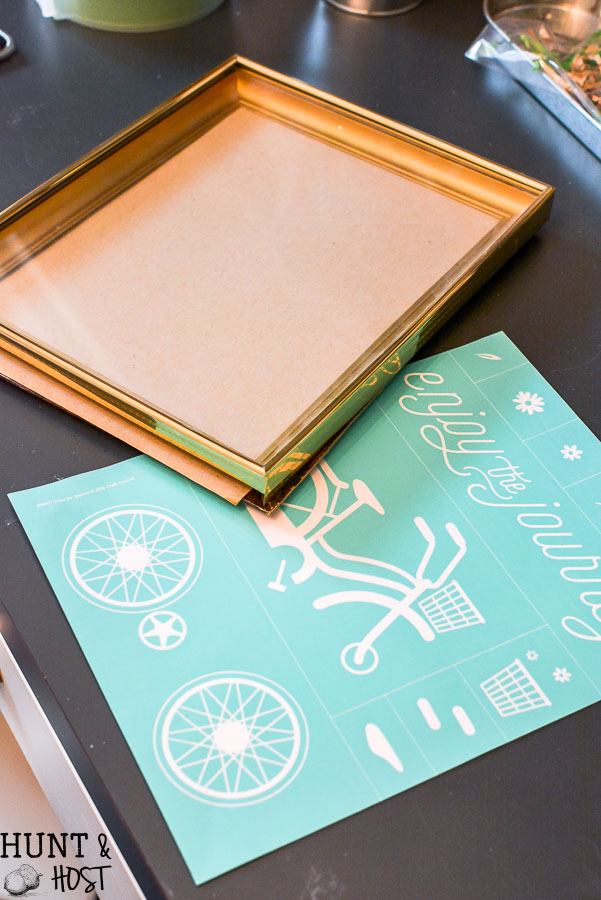 How To Paint Picture Frames With Chalk Paint Hunt And Host