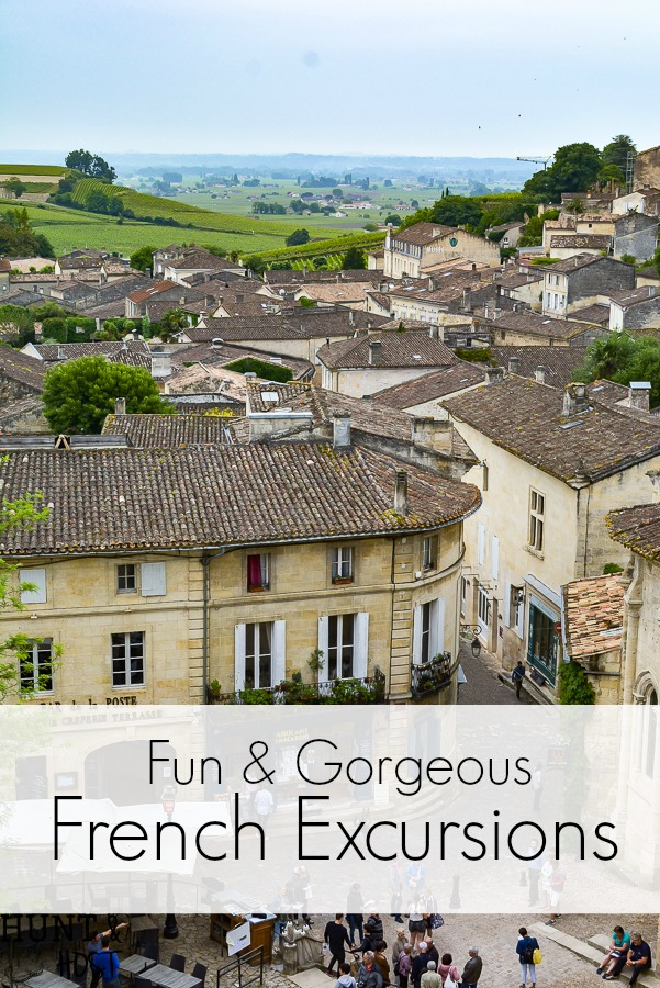 Planning a trip to France, add these french excursions to your vacation itenerary. Visit Saint Emilion and Perigueux for a fun and gorgeous French adventure. #travelFrance #perigueux #saintEmilion #francevacation