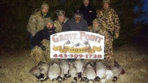 Chesapeake Flyway Goose Hunt