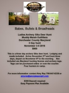 BBB Ladies Sika Hunt