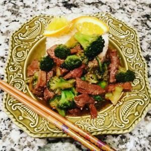 Deer & Broccoli Stir Fry