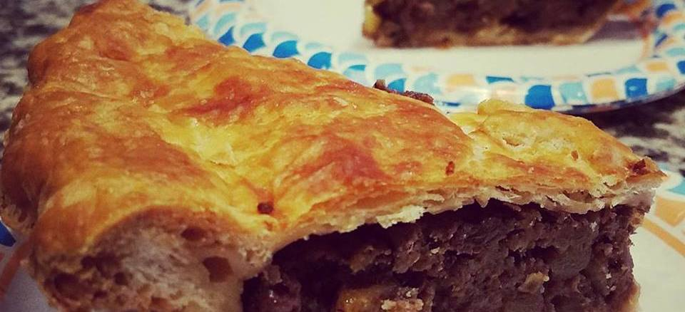 Colonial Venison Mincemeat Pie