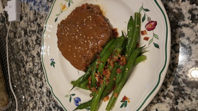 Wild Game Meatloaf with Wild MD Rabbit Gravy