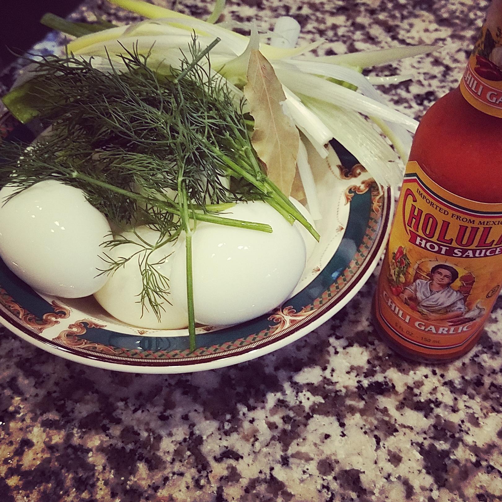 Pickled Eggs