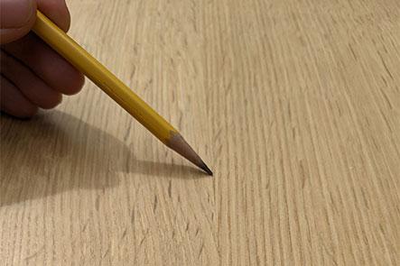 Square edge example