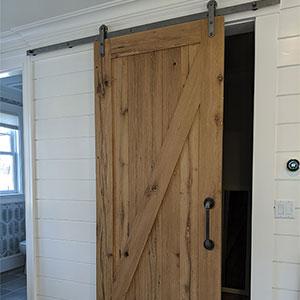 Barn style sliding door