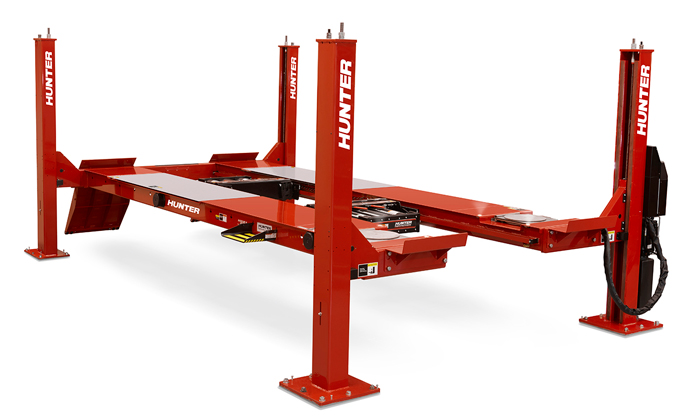 four post alignment lifts hunter