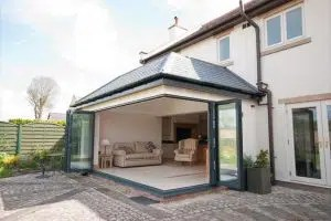 Contemporary Garden Room Extension in Flintshire